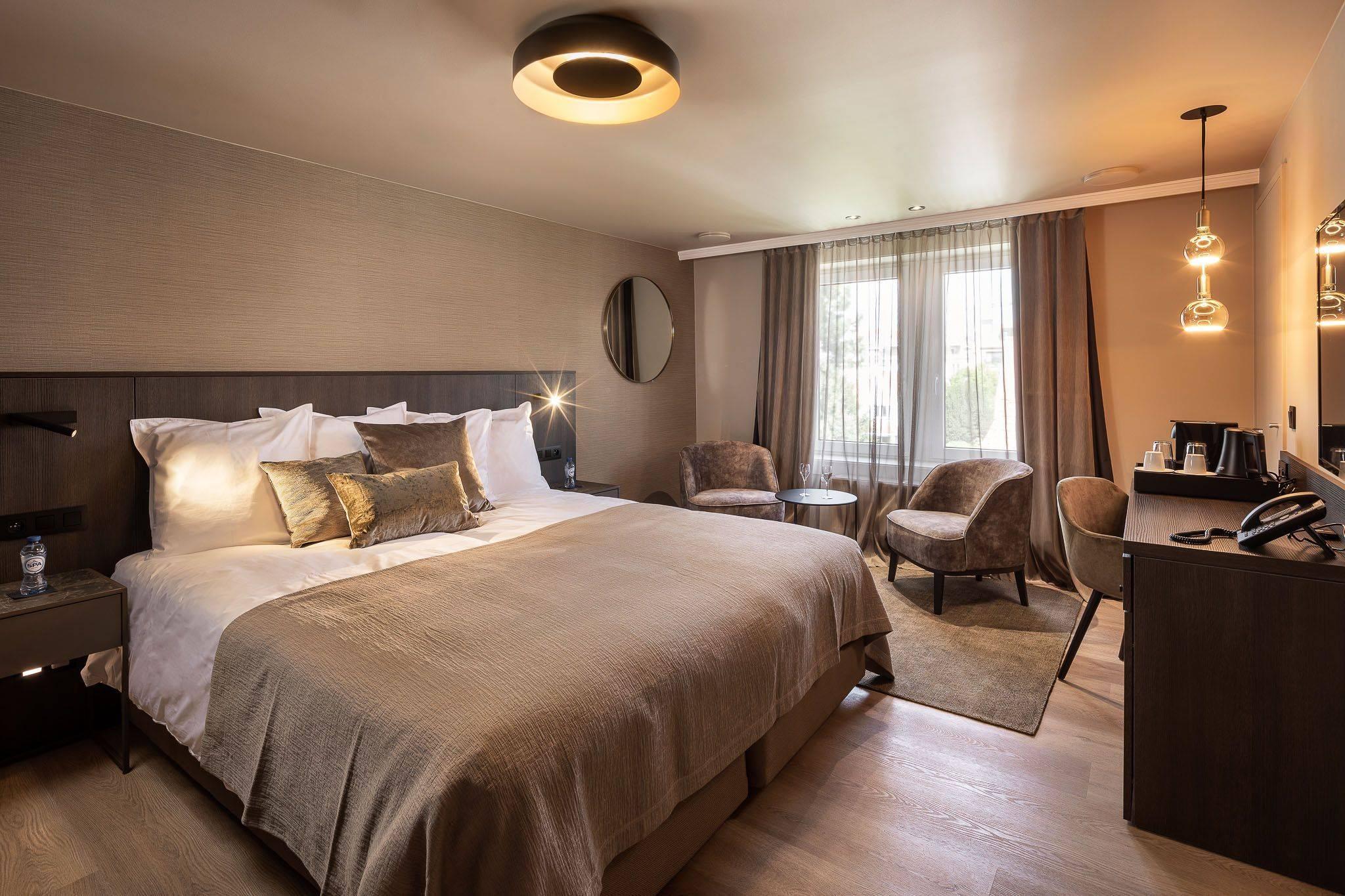 Hotel Lugano CHAMBRE DOUBLE STANDARD